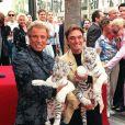 Les magiciens Siegfried et Roy à Los Angeles en 1999