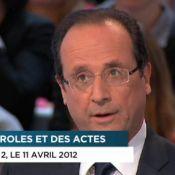 François Hollande réagit 'au désespoir' de Françoise Hardy