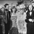 Dalida avec Julio Iglesias, Jeane Manson, Annie Cordy en 1980.   En 2012, 25 ans après son suicide dans la nuit du 2 au 3 mai 1987, Dalida continue de passionner et de renvoyer l'image d'une diva aux airs de femme fatale. Sa facette intime, celle de la femme désespérée, reste à découvrir...