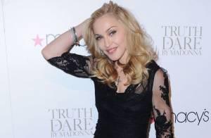 Madonna : Superbement sexy pour le lancement de son parfum !