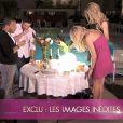 Caroline brûle sa robe dans le bêtisier d'Hollywood Girls le 13 avril 2012 sur NRJ 12