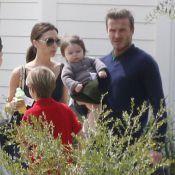 David et Victoria Beckham : Détente entre amis, c'est Harper qui brille