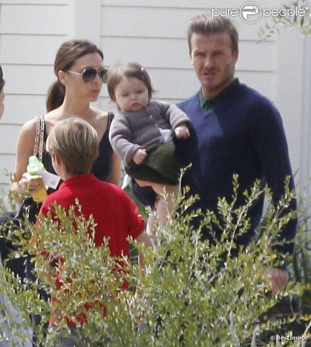 La famille Beckham a passé un bon moment avec la famille de Gordon Ramsay à Napa Valley lors du week-end de Pâques à Los Angeles.