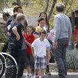 Une sortie au complet ! La famille Beckham a passé un bon moment avec la famille de Gordon Ramsay à Napa Valley lors du week-end de Pâques.