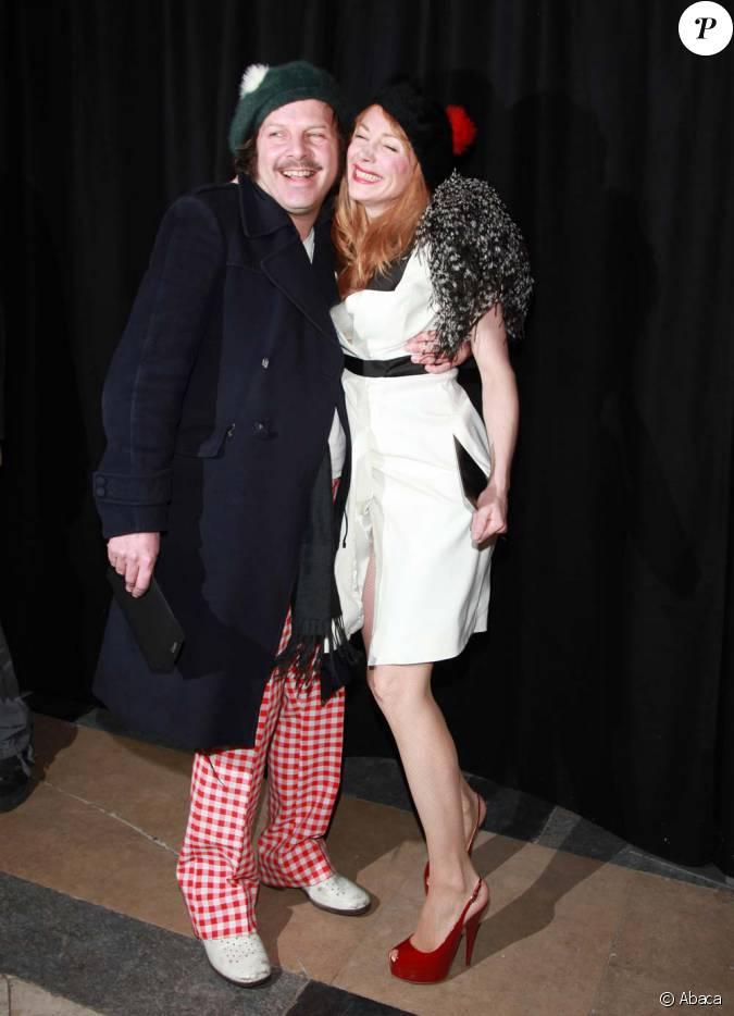 philippe katerine et julie depardieu au d fil etam paris le 23 janvier 2012. Black Bedroom Furniture Sets. Home Design Ideas