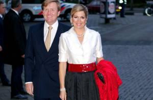La princesse Maxima flamboyante pour le président Gül avant sa mission à Paris
