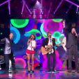 Les coachs chantent les Beatles dans The Voice, samedi 21 avril 2012 sur TF1