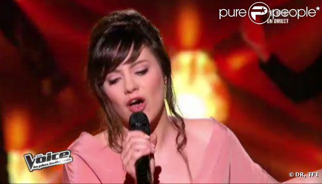 Al.Hy dans The Voice, samedi 21 avril 2012 sur TF1