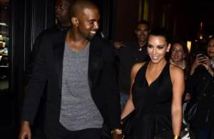 Kim Kardashian et Kanye West officialisent leur amour, une soirée de gourmets !