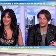 Diana et Marvin dans Les Anges de la télé-réalité 4, mardi 24 avril 2012 sur NRJ 12