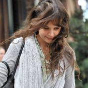 Katie Holmes : Fatiguée et cheveux au vent, elle se dévoile au naturel