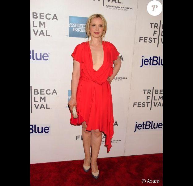 Julie Delpy lors du festival de cinéma de Tribeca - avril 2012