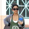Vanessa Hudgens débutait sa journée par une petite séance de sport. Los Angeles, le 30 avril 2012.