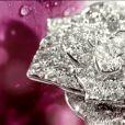 Image du spot Piaget Rose Collection, mis en scène avec la reprise de La Vie en Rose par Melody Gardot