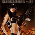 Michelle Rodriguez dans  Machete  (2010) de Robert Rodriguez.