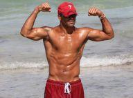 Shemar Moore, flambeur sexy à la plage : Ses abdos sculptés sont de sortie