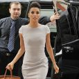 Eva Longoria se rend à l'émission Good Morning America, à New York le 8 mai 2012