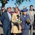 La famille royale des Pays-Bas était réunie autour de la reine Beatrix pour la Journée de la reine, le 30 avril 2012.