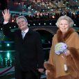 La reine Beatrix des Pays-Bas recevait le 6 mai 2012 la visite officielle du nouveau président allemand Joachim Gauck.
