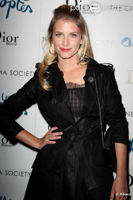 Mélanie Laurent à New York le 28 mars 2012