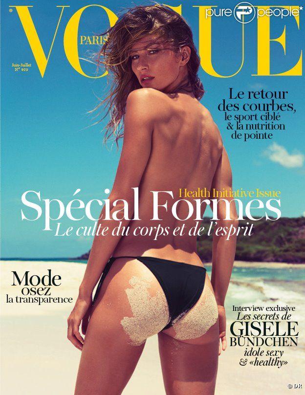 Gisele Bündchen photographiée par Inez et Vinoodh pour le magazine Vogue Paris de juin/juillet 2012.