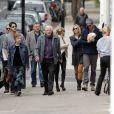 Elsa Pataky et son mari Chris Hemsworth se promènent en famille dans les rues de Londres avec leur petite fille India Rose, née le 11 mai 2012
