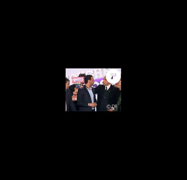 Cyril Hanouna et ses chroniqueurs reçoivent Nikos Aliagas et Dove Attia pour le deuxième anniversaire de Touche pas à mon poste, le jeudi 17 mai 2012.