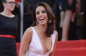 Cannes 2012 : Eva Longoria, sublime, très complice avec Amaury Nolasco
