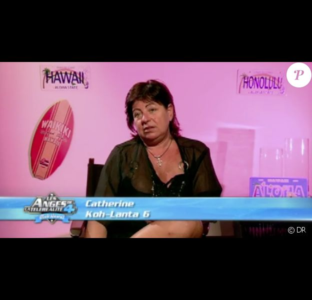Catherine dans les Anges de la télé-réalité 4, mercredi 18 avril 2012 sur NRJ 12