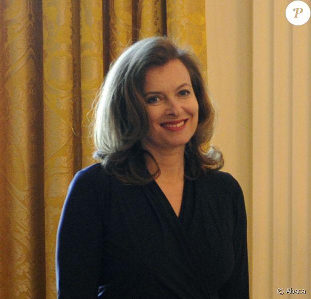 Valérie Trierweiler visite la Maison Blanche à Washington le 19 mai 2012