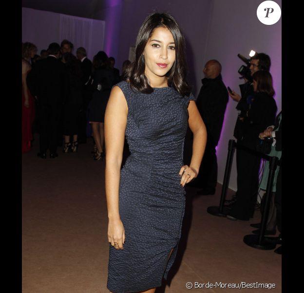 Leïla Bekhti au dîner de gala organisé à l'occasion du 65e anniversaire du Festival de Cannes, le 20 mai 2012.