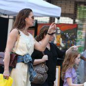 Brooke Shields : Dimanche aux puces avec ses fillettes
