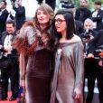 Le duo Brigitte le 21 mai 2012 lors de la montée des marches pour la présentation du film Vous n'avez encore rien vu dans le cadre du 65ème Festival de Cannes