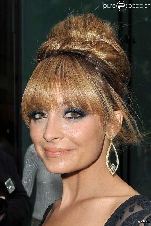 Nicole Richie, très en beauté pour la cérémonie des Fifi Awards 2012 au Lincoln Center. New York, le 21 mai 2012.