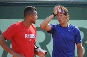 Roland Garros 2012 : Tsonga, Nadal, Kim Clijsters et Li Na morts de rire