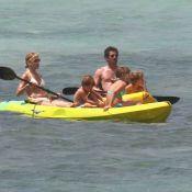 Patrick Dempsey : Vacances en famille, un papa tendre et un époux disponible
