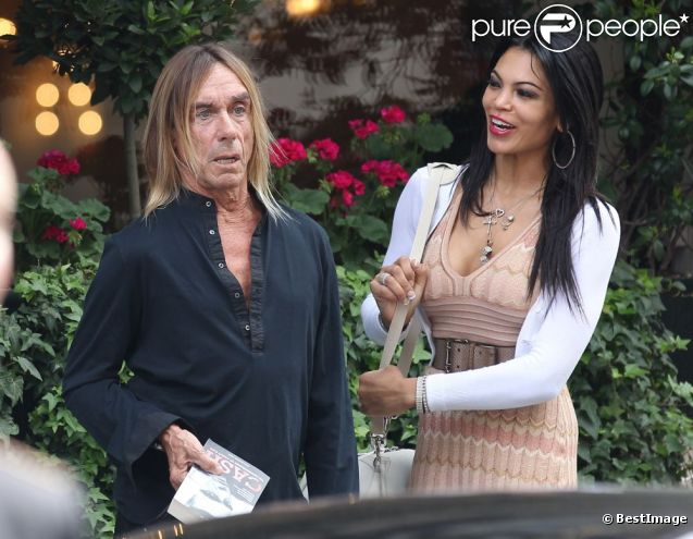 Iggy Pop couple