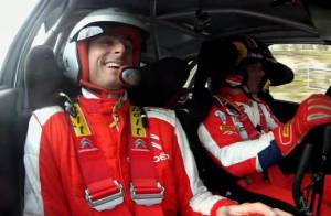 Sébastien Loeb : Olivier Giroud tétanisé par une initiation très particulière