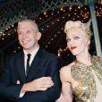 Madonna et Jean Paul Gaultier à Paris, le 12 octobre 1994.