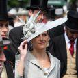 Sophie, comtesse de Wessex, lors du premier jour des célébrations du jubilé de diamant de la reine Elizabeth II, le 2 juin 2012.