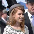 Princesse Beatrice lors du premier jour des célébrations du jubilé de diamant d'Elizabeth II, le 2 juin 2012.
