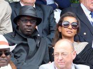 Roland-Garros 2012 : Lilian Thuram et Karine Le Marchand passionnés et complices