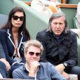 Ilie Nastase et Kyle Eastwood le 3 juin 2012 à Roland-Garros