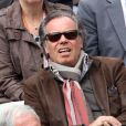 Michel Leeb le 3 juin 2012 à Roland-Garros