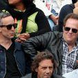 Wallace Langham et David Berman le 3 juin 2012 à Roland-Garros