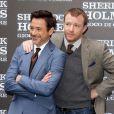 Guy Ritchie et Robert Downey Jr. à Rome le 11 décembre 2011