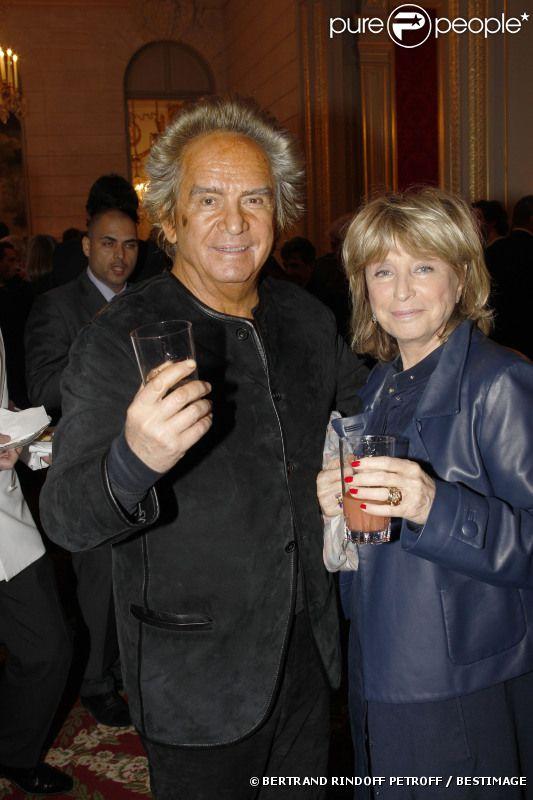 Danièle Thompson et Albert Koski, en mars 2012 à Paris.