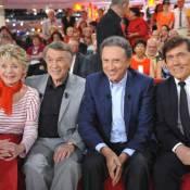 Michel Drucker fête la Belgique avec Cordy et Adamo sur fond de Tour de France