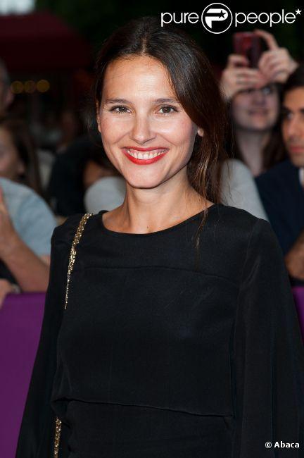 La belle Virgnie Ledoyen lors de la soirée d'ouverture du Champs-Elysées Film Festival, à Paris le 6 juin 2012.