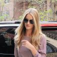 Rosie Huntington-Whiteley à New York, le 16 avril 2012.